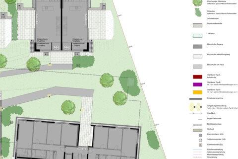 Wohnüberbauung-Bertschikon-Landschaftsarchitektur-Ausschnitt 1