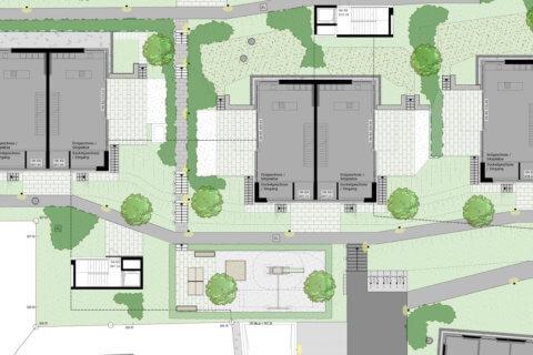 Wohnüberbauung-Bertschikon-Landschaftsarchitektur-Ausschnitt 2