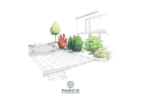 Wohnüberbauung-Bertschikon-Landschaftsarchitektur-Visualisierung 2