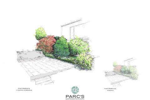 Wohnüberbauung-Bertschikon-Landschaftsarchitektur-Visualisierung 3