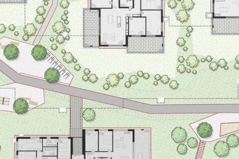 Wohnüberbauung Landschaftsarchitektur Felmispark - Ausschnitt 1